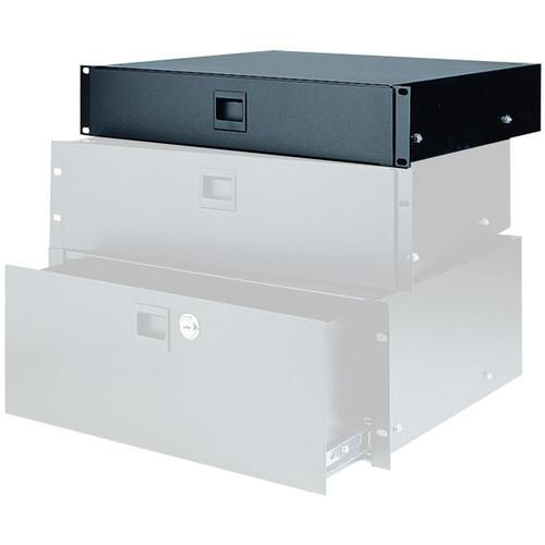 Raxxess Locking Heavy-Duty Rack Drawer (2U) SDR-2A-L