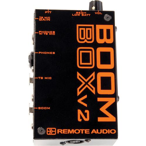 Remote Audio  Boom Box V2 BCSBBV2