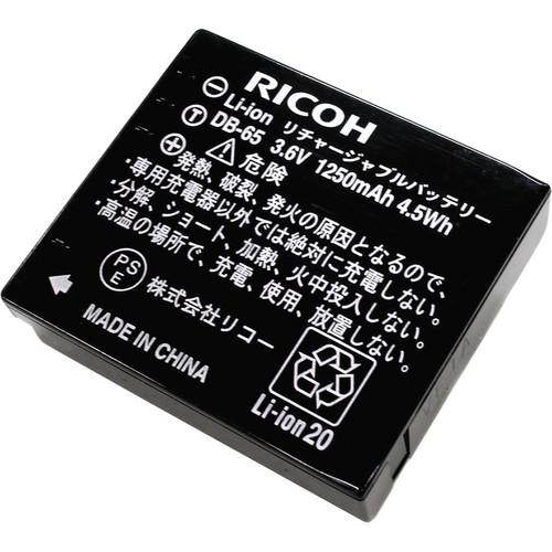 Ricoh  DB-65 Li-Ion Rechargeable Battery 174583