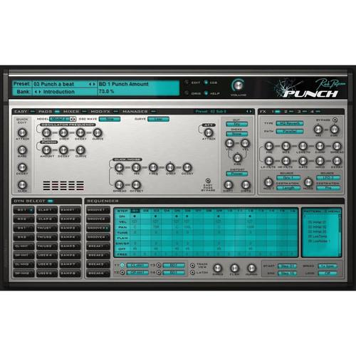 Rob Papen  Punch - Software Instrument RPPU10