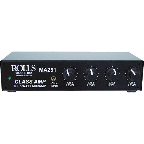 Rolls  MA251 Compact Mixer Amplifier MA251