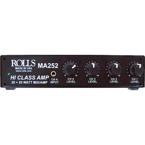 Rolls MA252 Compact Class D Stereo Amplifier MA252