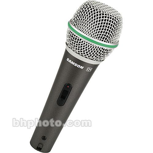 Samson Q4 CL - Dynamic Handheld Microphone with Switch SAQ4CL