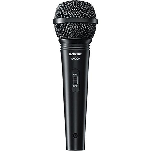 Shure SV-200WA Cardioid Dynamic Microphone with Cable SV200-WA