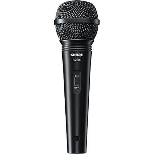 Shure SV200-W Cardioid Dynamic Microphone with Cable SV200-W