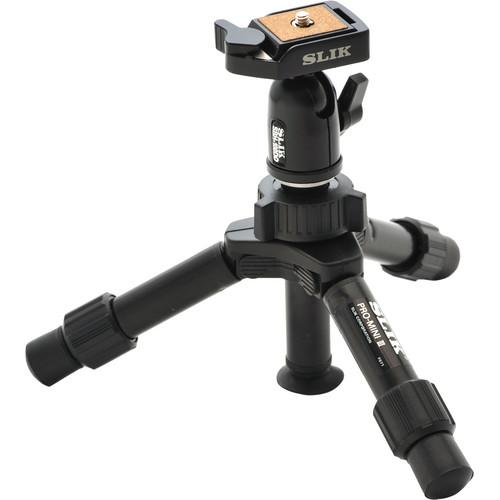 Slik Mini Pro DQ 2-Section Table-Top Tripod 611-353