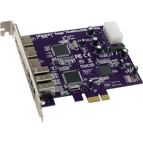 Sonnet Tango PCIe FireWire 400/USB 2.0 Adapter Card FWUSB2A-E
