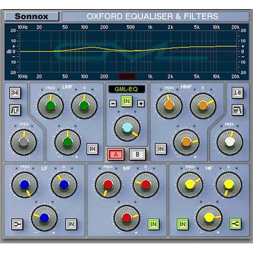 Sonnox  Oxford EQ - EQ Plug-In (TDM) EQHD