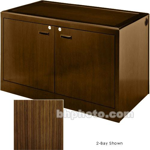 Sound-Craft Systems 3-Bay Equipment Credenza - CRDZ3BVW