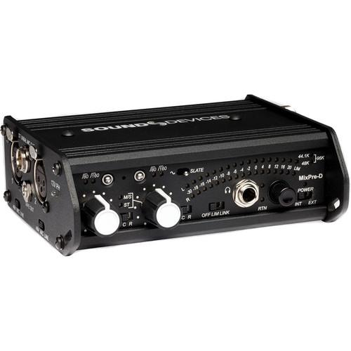 Sound Devices MixPre-D Compact Field Mixer MIXPRE-D