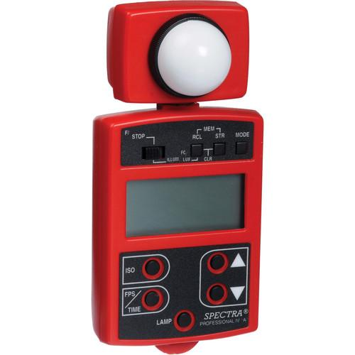 Spectra Cine Professional IV-A Light Meter (Red) 18002-ARD