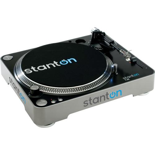 Stanton  T.52 Belt-Drive DJ Turntable T52B