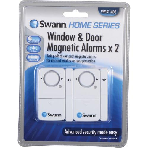 Swann Magnetic Window/Door Alarm (Pack of 2) SW351-MD2