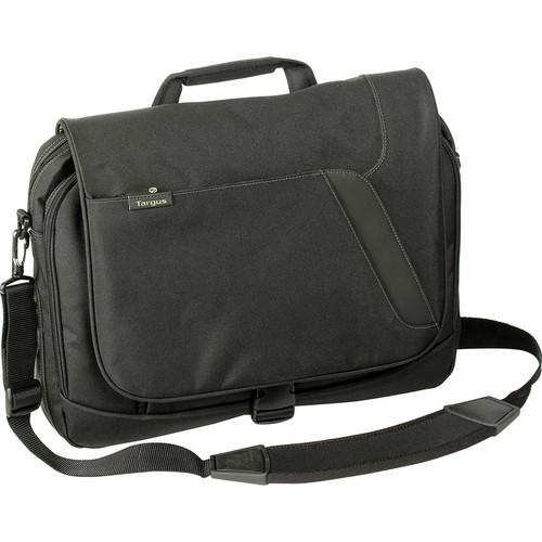 Targus Spruce EcoSmart Messenger Bag (Black/Green) TBM015US