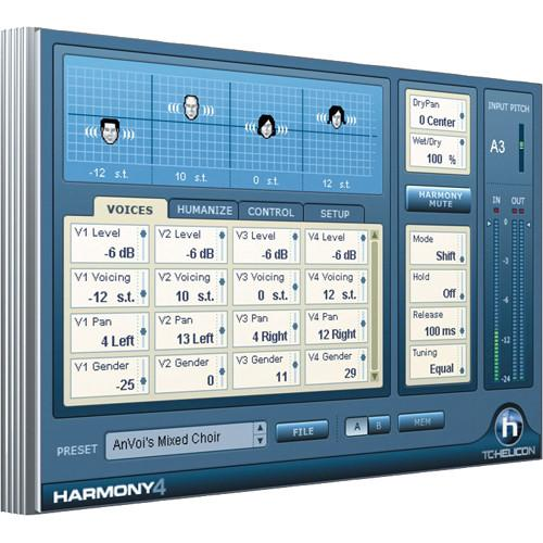 TC-Helicon Harmony4 - Virtual Harmony Voice 947-015901