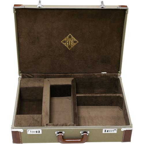 Telefunken Leather Bound Cordora Combination Locking Flight FC40