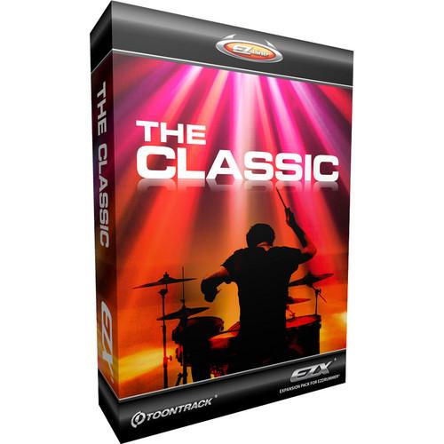 Toontrack  The Classic EZX Drum Library TT152SN