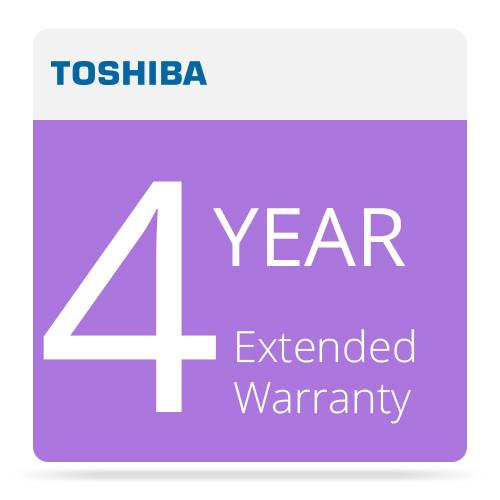 Toshiba 4 Year Extended Warranty Program for Surveillix EW-S4Y