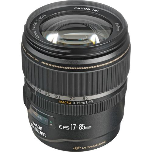 Used Canon EF-S 17-85mm f/4-5.6 IS USM Lens 9517A022AA