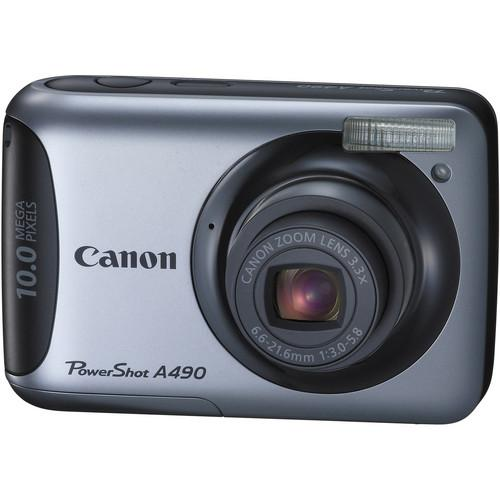 Used Canon PowerShot A490 Digital Camera 4258B021AA