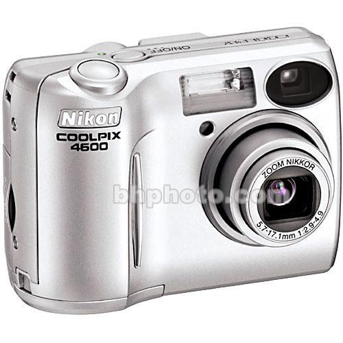 User Manual Used Nikon Coolpix 4600 Digital Camera 25524b