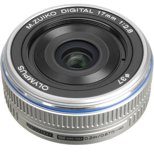 Used Olympus M.Zuiko Digital 17mm f/2.8 Lens for Micro 261502B