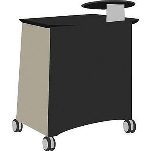 Vaddio Instrukt Lectern with Casters (Gray/Black) 799-2000-000