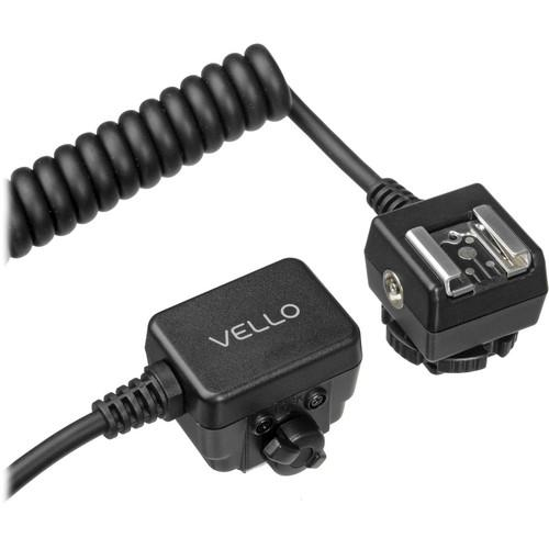 Vello Off-Camera TTL Flash Cord for Nikon Cameras (6.5') OCS-N6