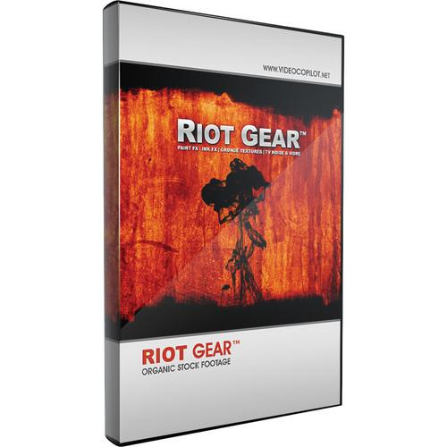 Video Copilot Riot Gear Pre-Matted Organic Stock Footage 30066