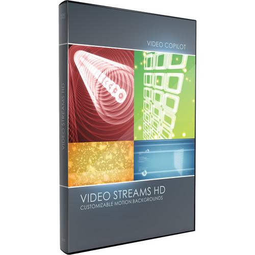 Video Copilot Video Streams HD Customizable Motion 30077