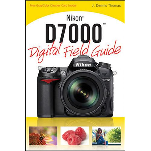Wiley Publications Book: Nikon D7000 Digital Field 9780470648643
