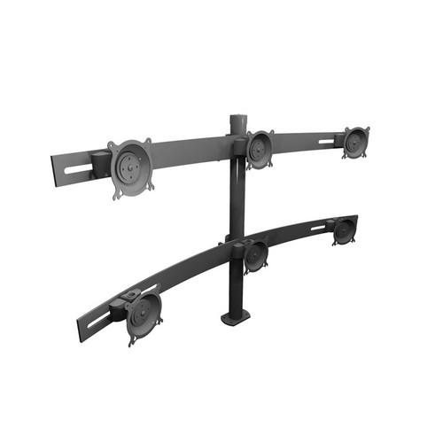 Winsted  W5688 Double Tier Monitor Mount W5688