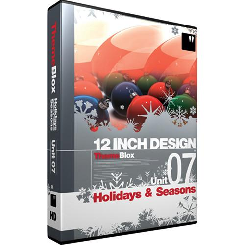 12 Inch Design ThemeBlox HD Unit 07 - Holidays and 07THM-HD