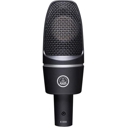 AKG  C3000 Studio Microphone Twin Pack