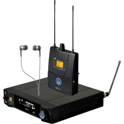 AKG IVM4500 In Ear Monitoring System BD8-100mW 3097H00310