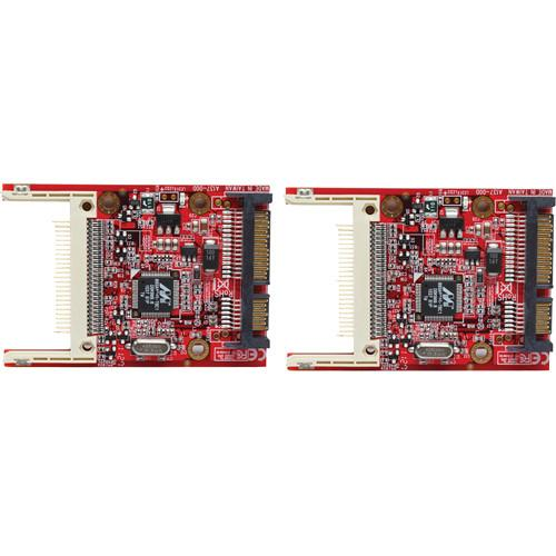 Aleratec Compact Flash (CF) to SATA Adapter (2 Pack) 350119