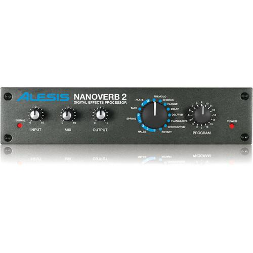 Alesis NanoVerb 2 - Digital Effects Processor NANOVERB 2