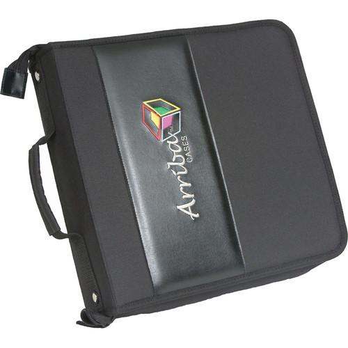 Arriba Cases Durable CD/DVD Case (Holds 200 Discs) AL200