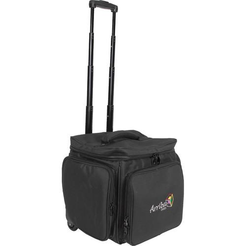 Arriba Cases Durable Utility/LP Case with Wheels AL60