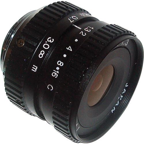 AstroScope 8mm f/1.3 C-Mount Objective Lens 914309