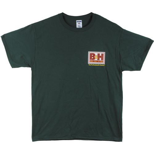 Web Logo T-Shirt (Large, Green) BHW-TGRL