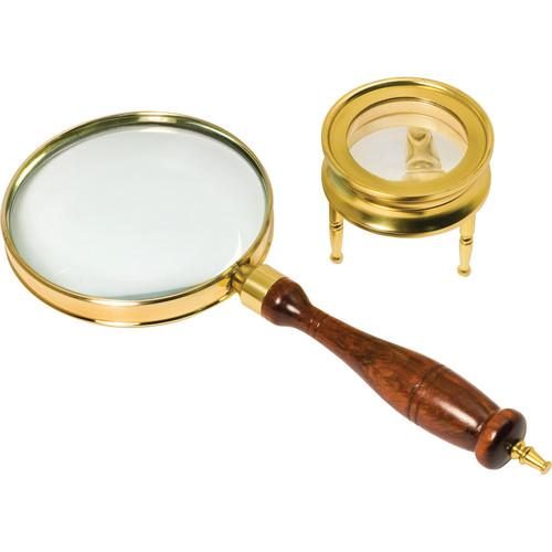 Barska AR10858 Brass 3x Power Magnifier Set AR10858