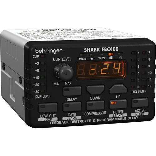 Behringer SHARK FBQ100 Automatic Feedback Destroyer FBQ100