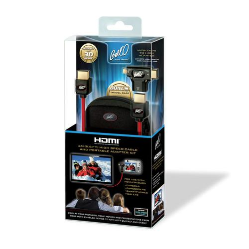 Bell'O HDMI Cable With Portable Adapter Kit HDK2631