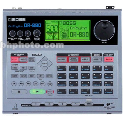 BOSS  DR-880 Dr. Rhythm - Drum Machine DR-880