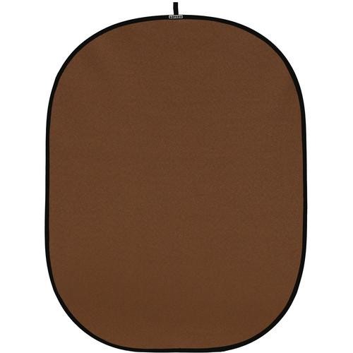 Botero #052 CollapsibleBackground (5x7') (Brown) C05257