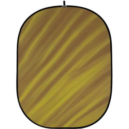 Botero 081 Collapsible Background (5 x 7', Brown, Yellow) C08157
