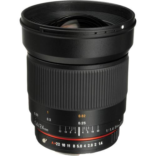 Bower 24mm f/1.4 Wide-Angle Lens for Pentax SLY2414P