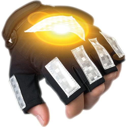 Brite-Strike Active Illumination Reflective Sport Gloves SG-M