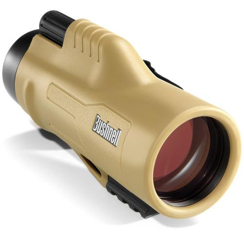 Bushnell 10x42 Legend Ultra HD Monocular (Tan) 191144
